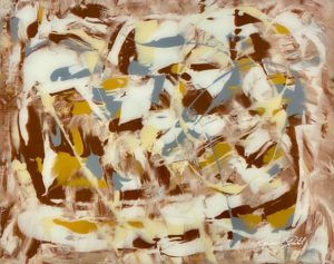 Abstraktes Kunstwerk von Raphael Gratzl